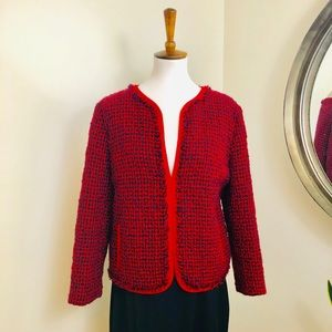 Escada 🍷 Wool Tweed Jacket